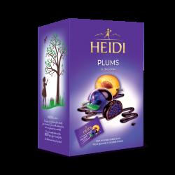 HEIDI Plums in chocolate 185g