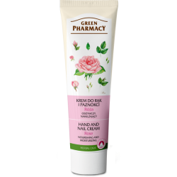 Green Pharmacy Krém na ruce a nehty Růže