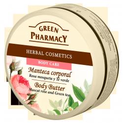 Tělové máslo Damašská růže
